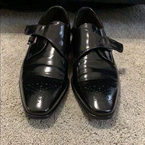Black Brunomagli dress shoes size 13 men